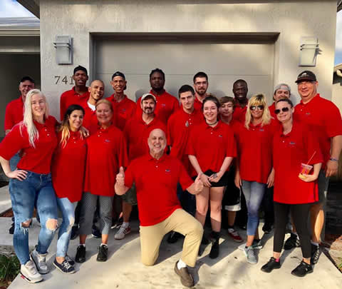 James Club Recovery Residents RED TEAM with Ray Rapaglia